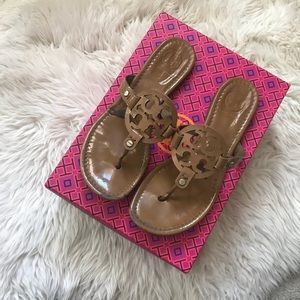 Patent Tory Burch Miller sandals